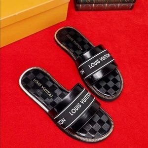Shoes - Lv slides